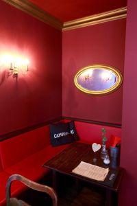 Sitzecke im Café Albert Restaurant Leipzig Plagwitz Geschmackskompass