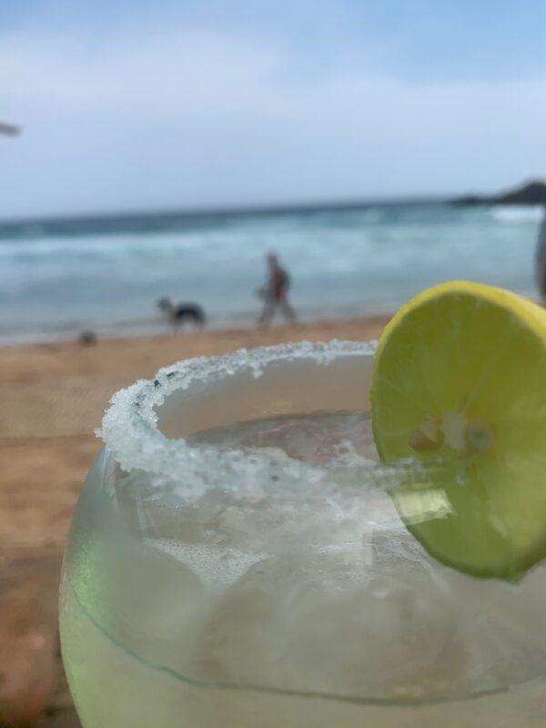Margarita Beachbar Corazon Mazunte Mexiko