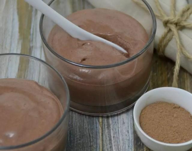 Pudding aus Schokolade
