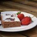 Schokoschnitte mit Erdbeeren