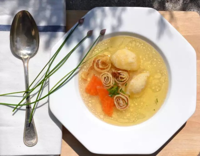 Suppeneinlagen, Frittaten, Grießnockerl