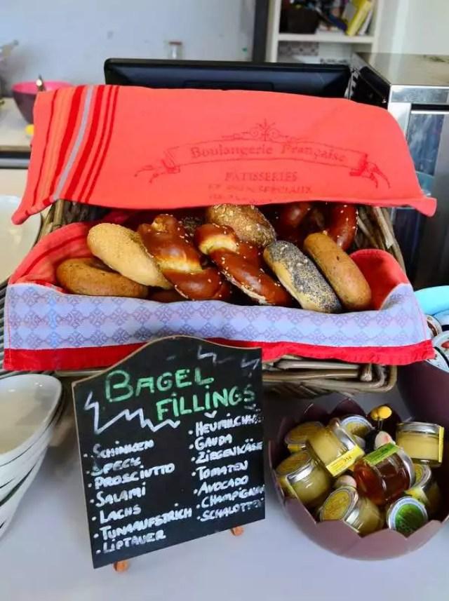Bagels Frühstücksbar