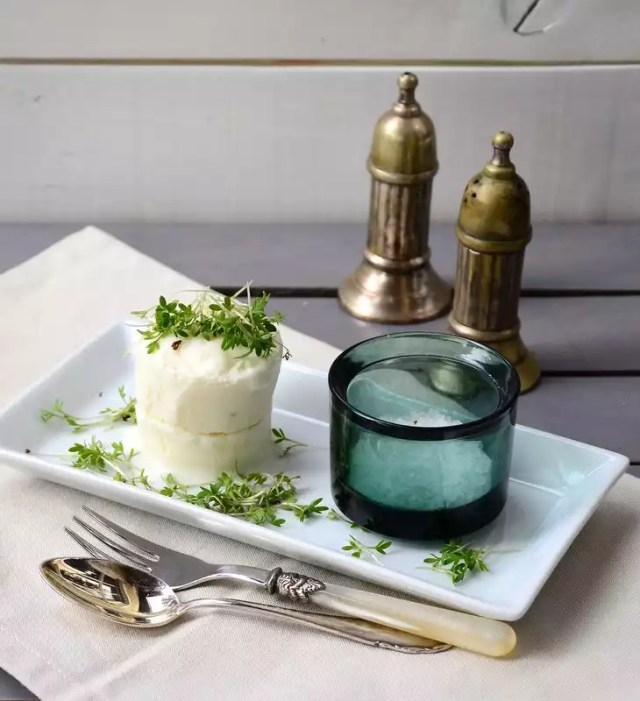 Sellerie Buttermilch Mousse