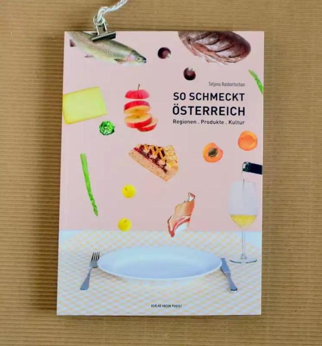 Kulinarische Reise durch Österreich in Buchform
