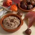 Mousse aus Edelkastanien mit Joghurt