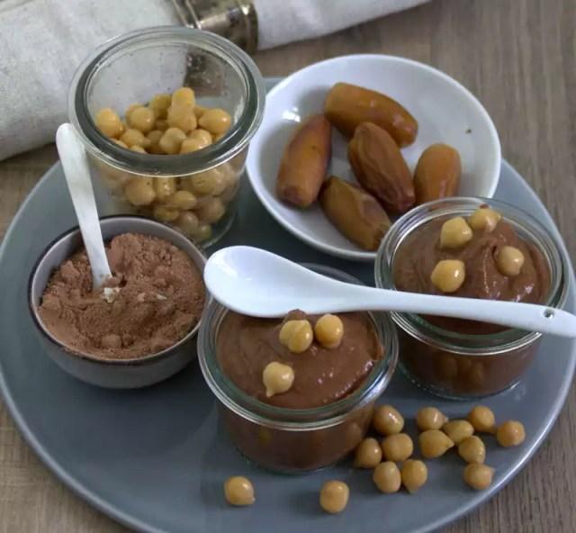 Hummus aus Schokolade