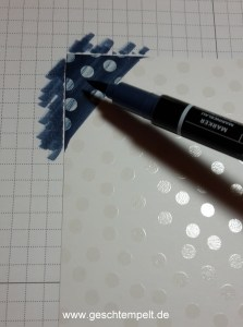 Stampin up, Ombre Technik, Anleitung in Bildern, Ombre Technique, Tutorial, Aus der kreaivkiste, magische Muster