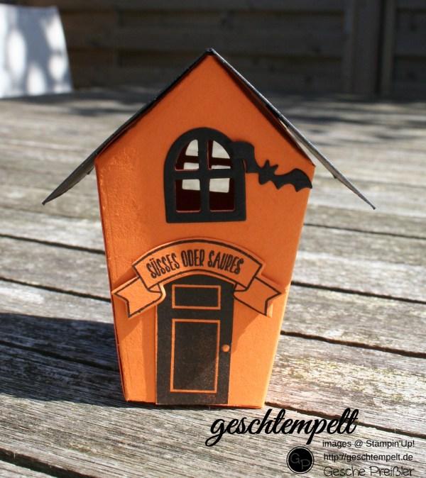 Spooky, Ein Haus für alle Fälle, Zu Hause, Halloween, Stampin up, Spooky Fun, Halloween Szenerie