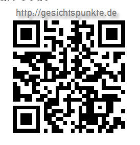 QR-Barcode https://gesichtspunkte.de - mit App auf Smartphone lesen und öffnen!