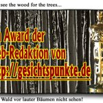 Award from the wood - Award aus dem Wald