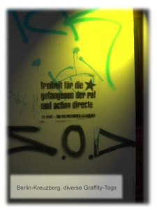 Graffity in Berlin-Xberg (Fotograf: Thomas Gotthal)