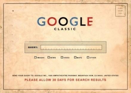 google-Classics Postkarte