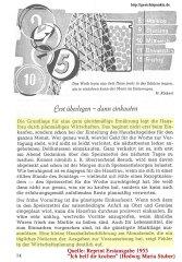 Kluges Wirtschaften - 1955 (reprint)