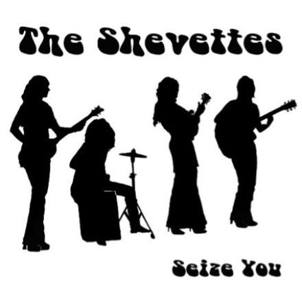 "CD-Cover ""The Shevettes"" - ""Seize You"""