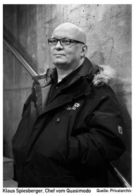Klaus Spiesberger, Chef vom Quasimodo