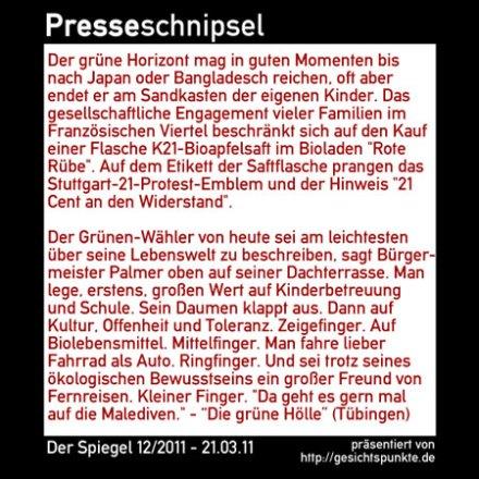 Presse 01.11 - Die grüne Hölle (SPIEGEL)