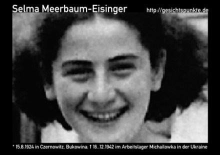 Selma Meerbaum-Eisinger (Quelle: Privatarchiv)