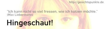 Max Liebermann - Ich kann gar nicht so viel fressen, wie ich kotzen möchte!
