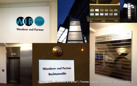 """Collage """"WIR - Wanderer & Partner"""""""