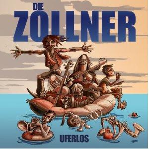 """Die Zöllner, CD-Cover """"Uferlos"""""""