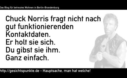 Chuck Norris: Kontaktdaten