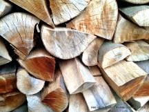 Reichlich Holz vor der Hütte!