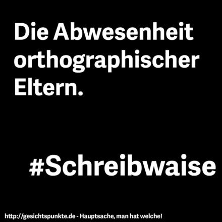 Schreibwaise