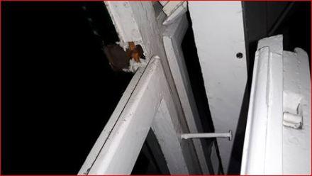 Fenster kaputt (Foto: Eigentümerin)
