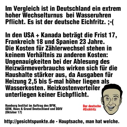 Der deutsche #Eichfritz und die #Eichfrist