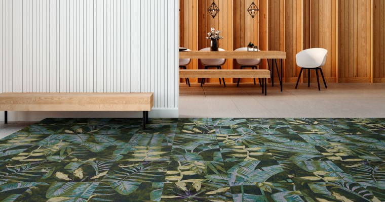 Spring awakening in the living room: FORUM carpets with floral motifs from OBJECT CARPET