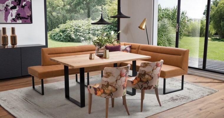 Dining Serie PEARLS – luxuriöser Sitzkomfort bei Tisch