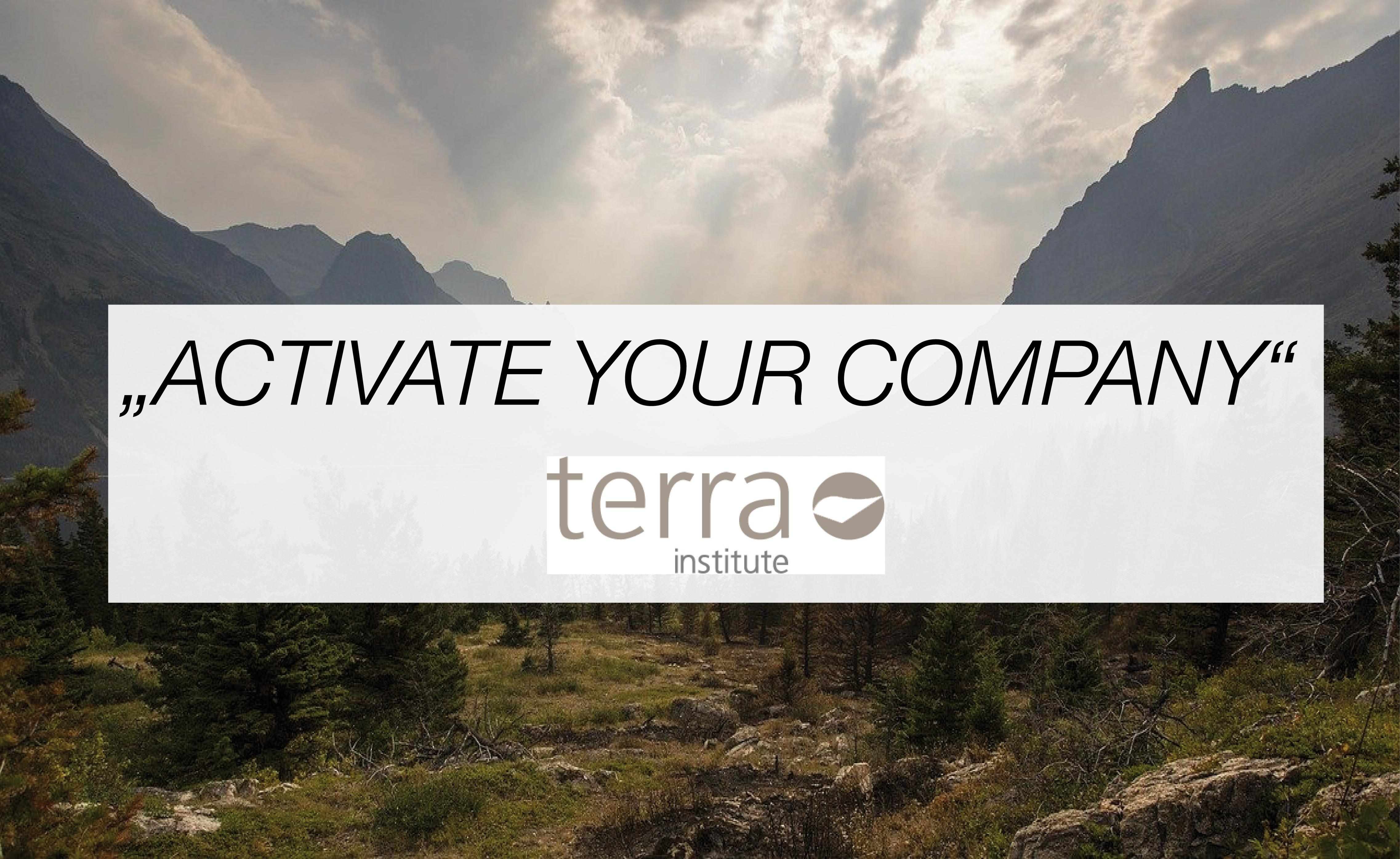"""Zeit zu handeln: """"ACTIVATE your company"""" – Aufbruch in ein verantwortungsvolles, neues Unternehmertum"""