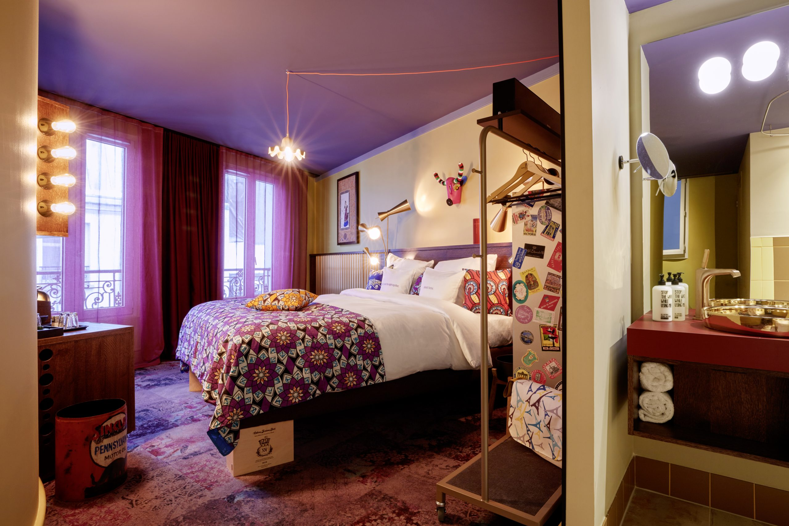 FREESTILE in Paris – the 25hours Hotel dazzles with design carpets from OBJECT CARPET