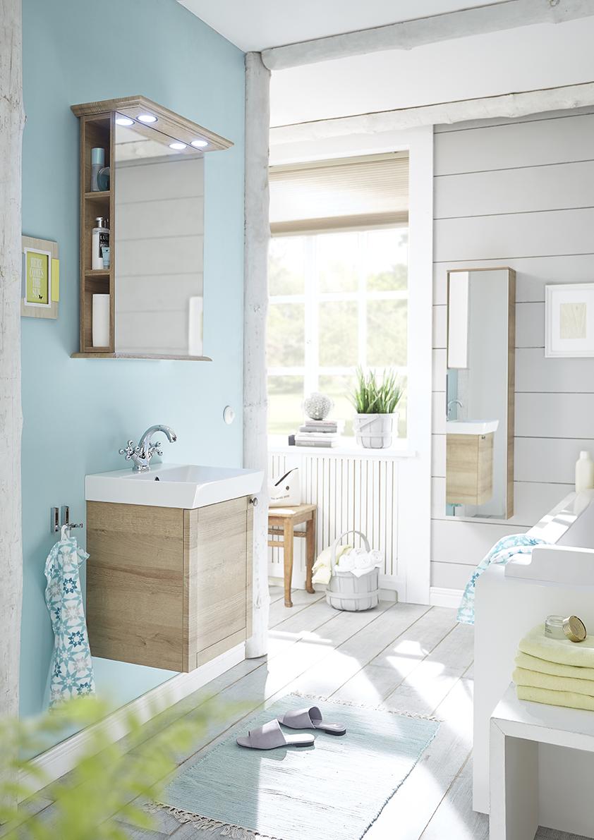 Ideen für das neue Badezimmer: kleines Bad ganz groß