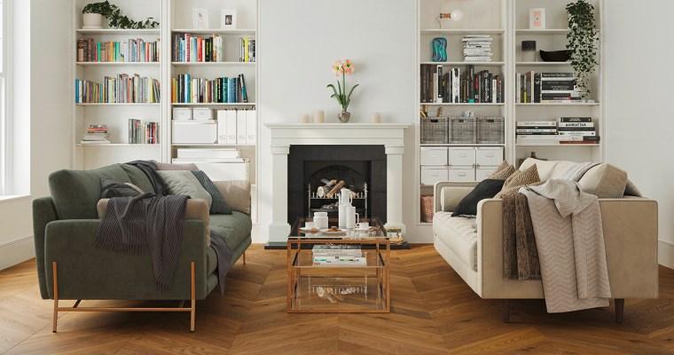 Natürliche Schönheit und Alltagsheld: die Naturholzböden von mafi im Wohnzimmer