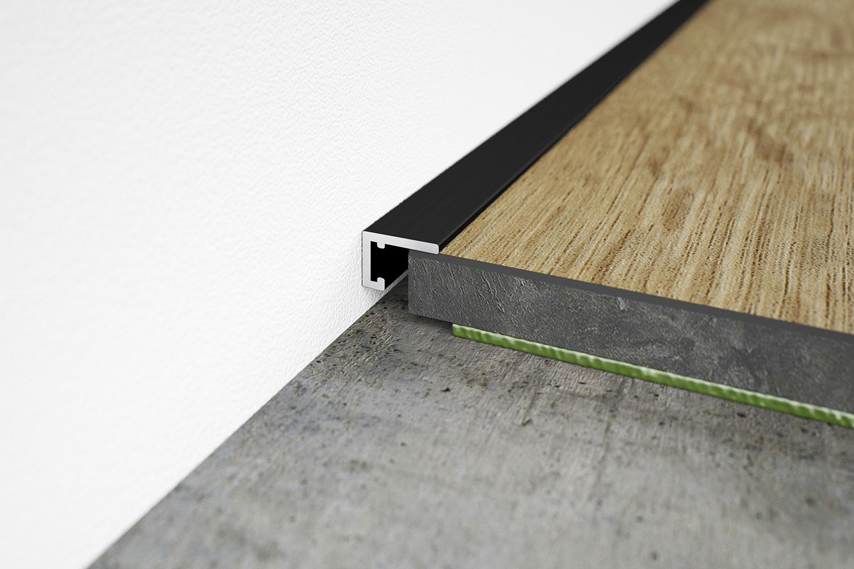 Die minileiste®: der smarte Übergang von Boden zu Wand