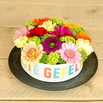 Geslaagd bloemen 8