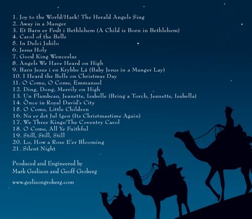 Mark Geslison And Geoff Groberg Christmas Hymns