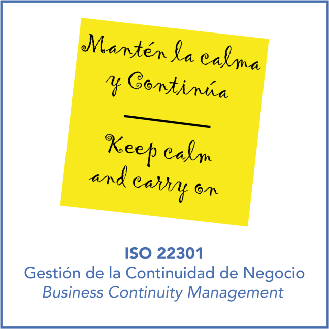Continuidad Negocio ISO 22301 1