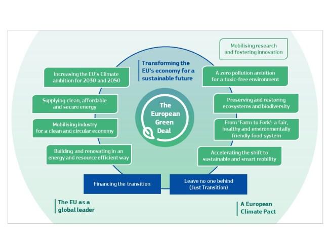 Lineamientos del Pacto Verde Europeo