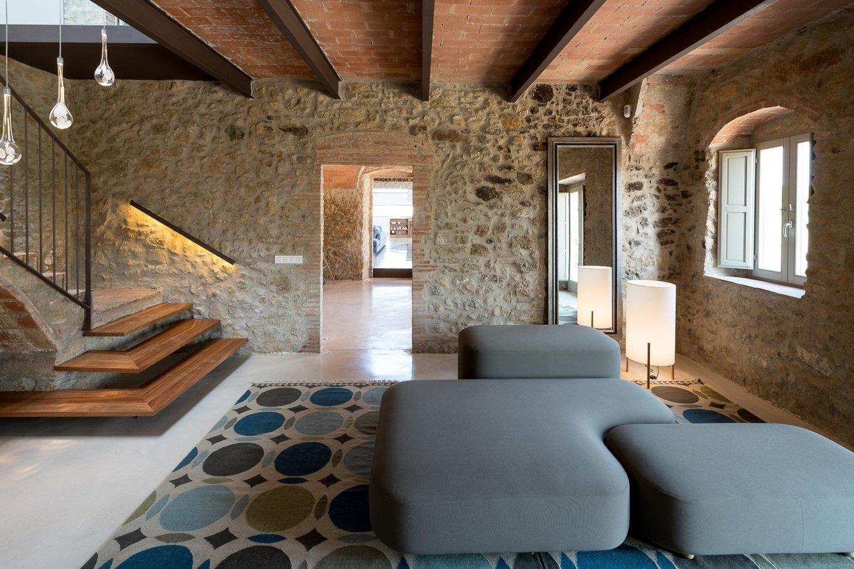 A Restored 1850s Farmhouse In Girona Spain