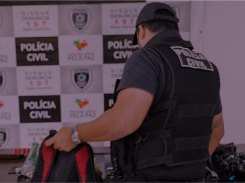 Polícia Civil deflagra Operação Sanctus em 4 cidades da Paraíba