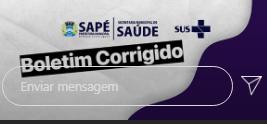 Erros e divergências são detectados no Boletim Epidemiológico do município de Sapé e prefeito emite versão corrigida dos dados