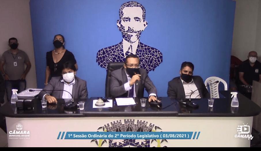 Prefeito de Sapé sofre primeira grande derrota na Câmara e vai recorrer à justiça para anular sessão. Presidente da Câmara disse que foi ameaçado de morte