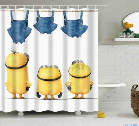 quelle couleur de rideau de douche fait