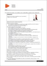 Estudio de Seguridad y Salud. Ficha de prevención para Equipo de oxicorte, con acetileno como combustible y oxígeno como comburente