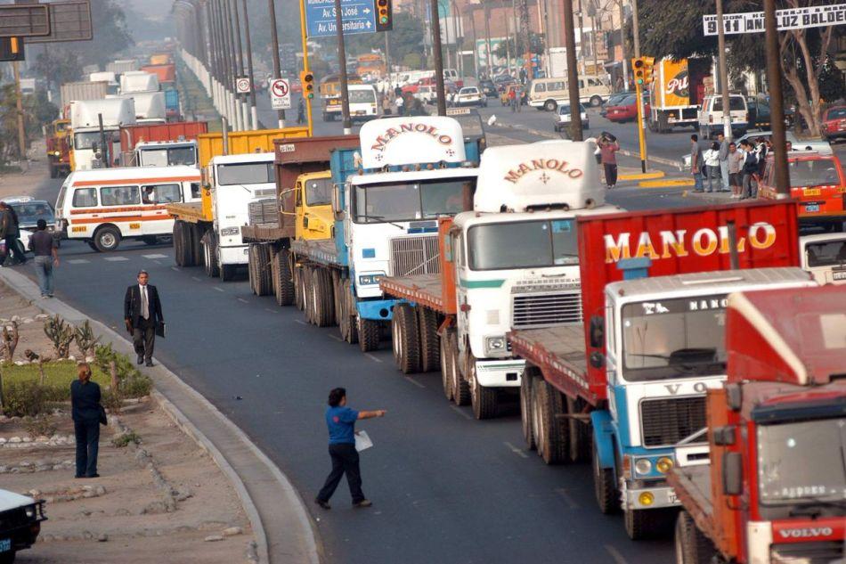Resultado de imagen para huelga de transportistas