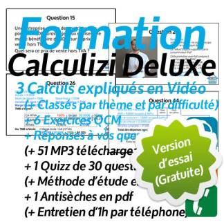 Essai gratuit Cours gestion Calculizi Deluxe
