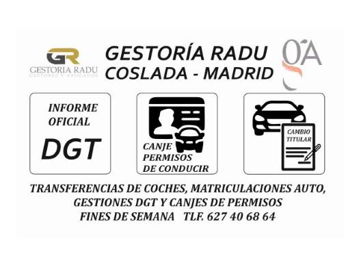 GESTORIA FINES DE SEMANA EN MADRID