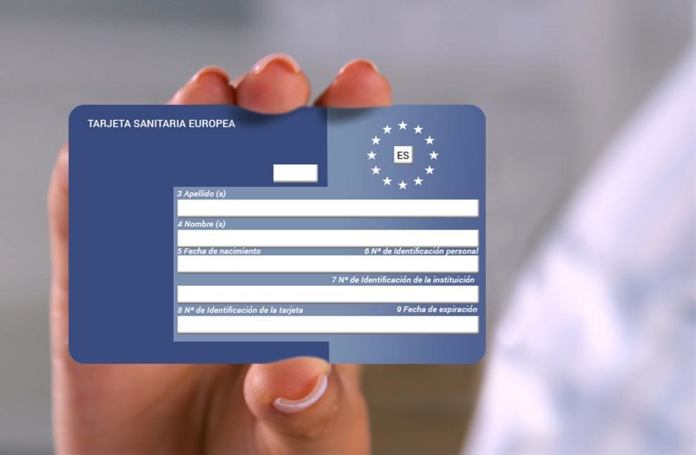 solicitud tarjeta sanitaria europea temporal